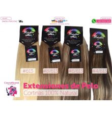 Cortinas de Pelo 100% Natural. 2 Mt Ancho X 55 de Largo
