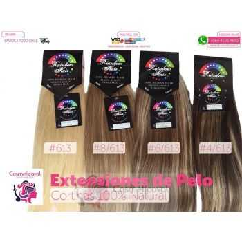Cortinas Extensiones de Pelo 100% Natural